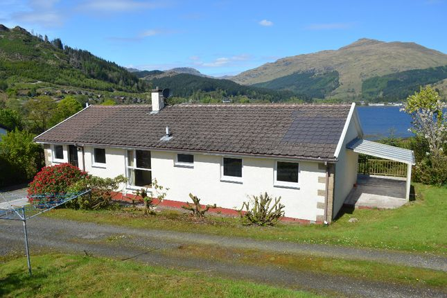 Thumbnail Bungalow for sale in Cobbler View, Lochgoilhead, Cairndow