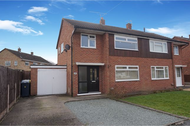 Thumbnail Semi-detached house for sale in Stokesay Avenue, Shrewsbury