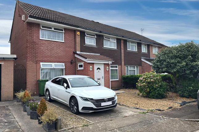 Thumbnail Semi-detached house for sale in Marshall Close, Llandaff, Cardiff