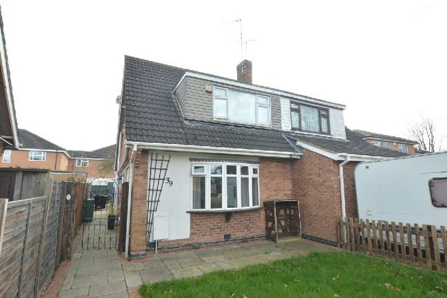 3 bed semi-detached house for sale in Brook Street, Whetstone, Leicester LE8