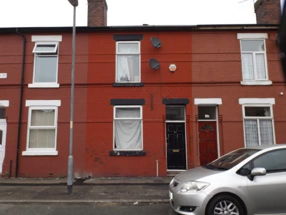 Front of Driffield Street, Manchester, Greater Manchester, Uk M14