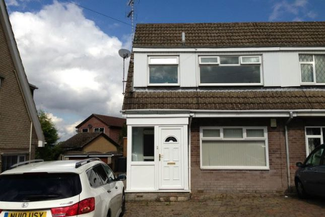 Thumbnail Semi-detached house to rent in Cramfit Close, North Anston, Sheffield