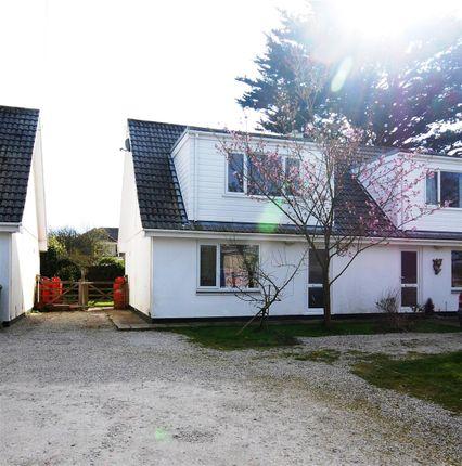 Thumbnail Semi-detached house for sale in Brandy Lane, Rosudgeon, Penzance