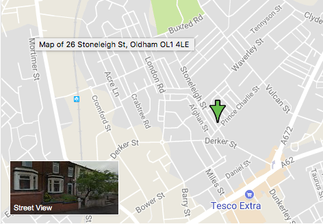 Thumbnail Flat to rent in Stoneleigh Street, Oldham