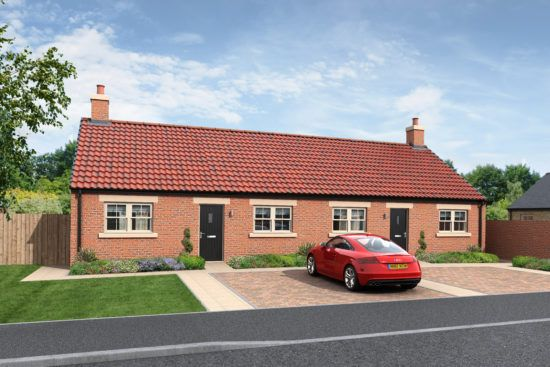 Thumbnail Bungalow for sale in Holmefield, Embleton, Northumberland