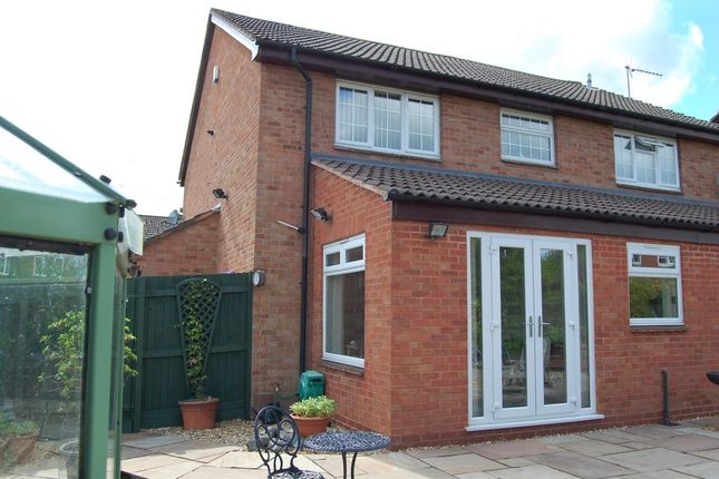 Thumbnail End terrace house for sale in Argus Close, Walmley, Sutton Coldfield