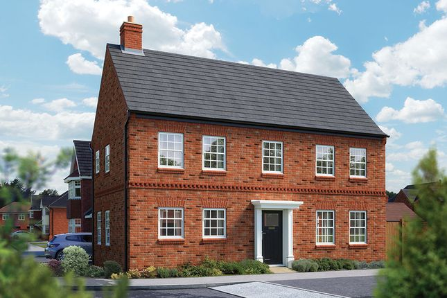 "Thumbnail Detached house for sale in ""The Montpellier"" at Ashlawn Road, Rugby"
