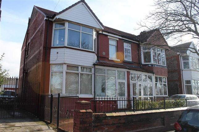 Thumbnail Semi-detached house for sale in Northmoor Road, Longsight, Greater Manchester