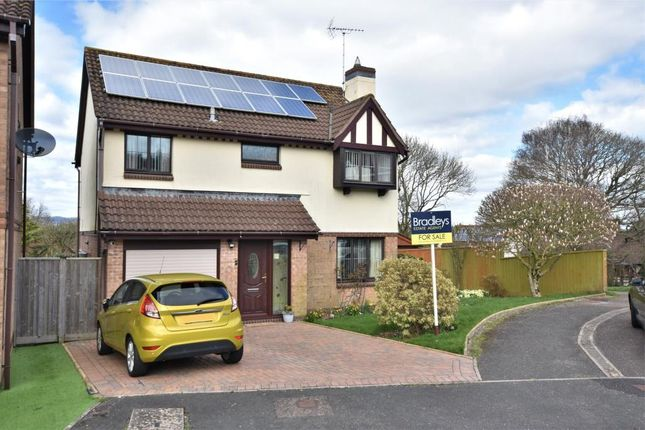 Thumbnail Detached house for sale in Heather Close, Honiton, Devon