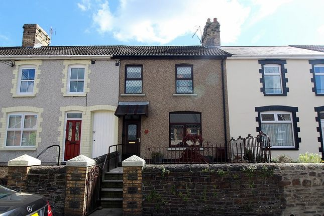 Thumbnail Terraced house for sale in Bridgend Road, Llanharan, Pontyclun, Rhondda, Cynon, Taff.