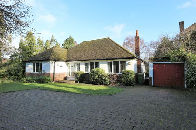 Thumbnail Detached bungalow to rent in Oakwood Close, Chislehurst