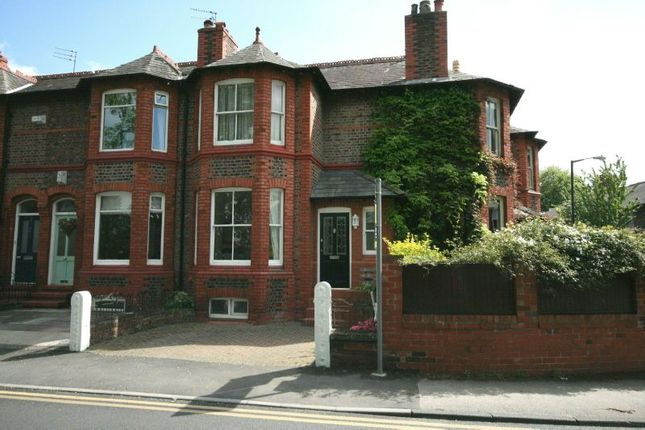 Thumbnail End terrace house to rent in Victoria Road, Hale, Altrincham