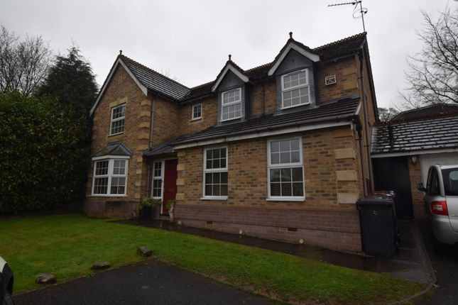 Thumbnail Detached house to rent in Ash Way, Westlands, Newcastle