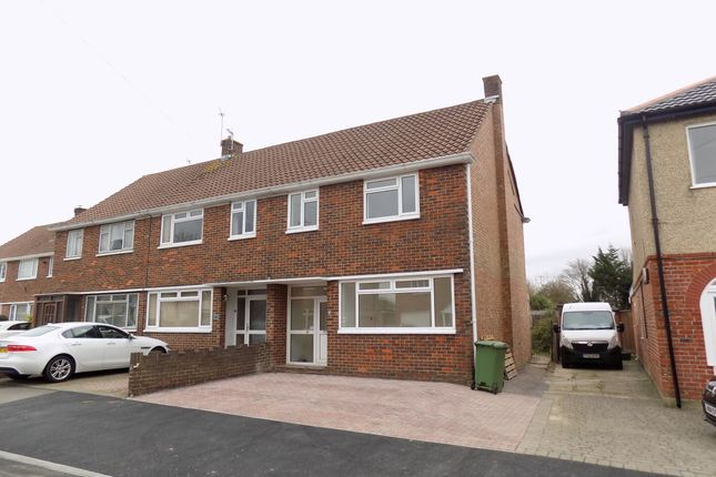 Thumbnail End terrace house to rent in Lealand Road, Drayton, Portsmouth