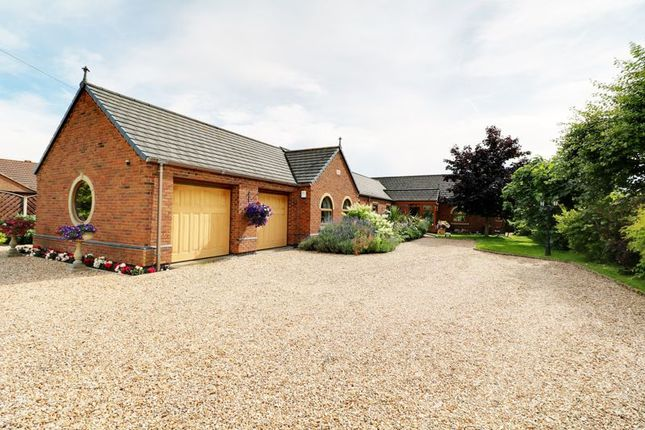 Thumbnail Detached bungalow for sale in Old Village Street, Gunness, Scunthorpe