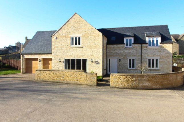 Thumbnail Detached house for sale in Main Street, Yarwell, Peterborough