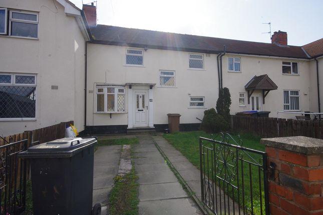 Thumbnail Terraced house to rent in Peveril Drive, Ilkeston