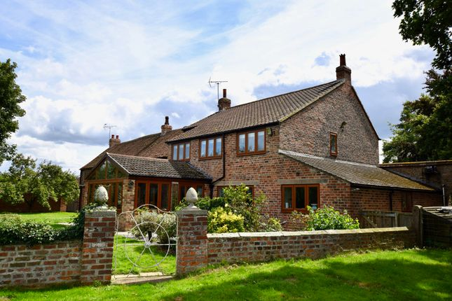 Thumbnail Link-detached house for sale in Moor Lane, Ryther, Tadcaster, North Yorkshire