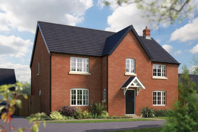 "Thumbnail Detached house for sale in ""The Truro"" at Towcester Road, Silverstone, Towcester"