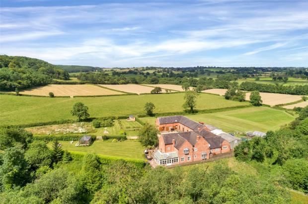 Thumbnail Detached house for sale in Marchington, Uttoxeter, Staffordshire