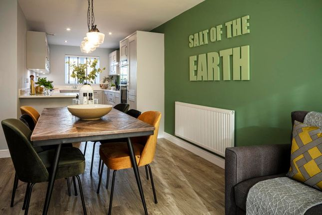 Thumbnail Town house for sale in Belland Hill, Eynesbury, St. Neots
