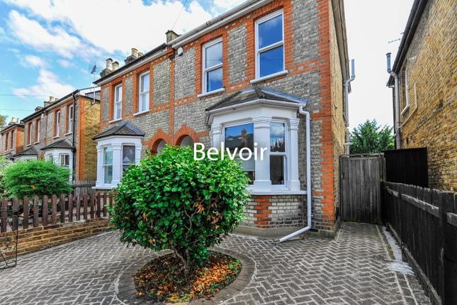 Thumbnail Semi-detached house to rent in Wyndham Road, Kingston Upon Thames