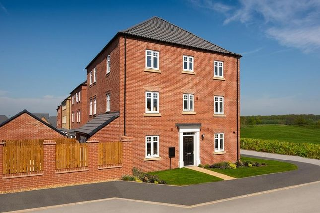 """Thumbnail Semi-detached house for sale in """"Drayton"""" at Crick Road, Hillmorton, Rugby"""