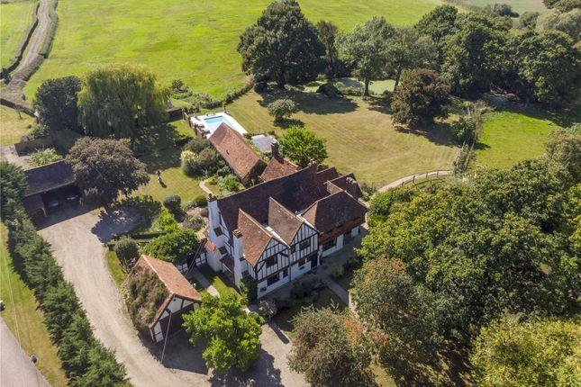 Thumbnail Detached house for sale in Tandridge Lane, Crowhurst, Lingfield, Surrey