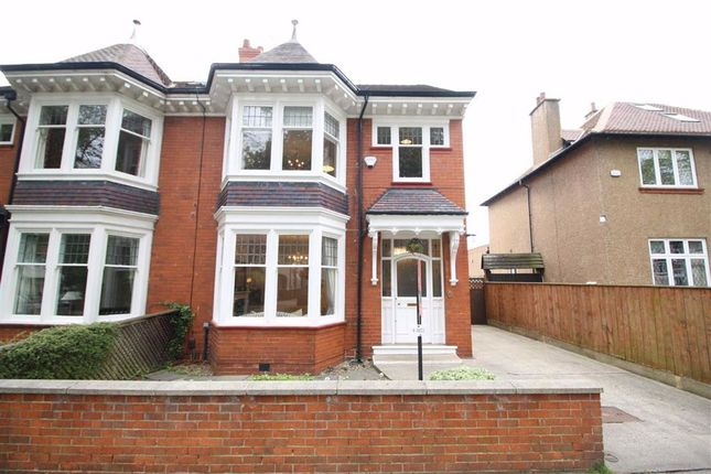 Thumbnail Semi-detached house for sale in Linden Avenue, Darlington