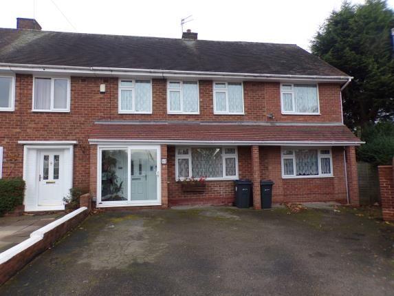 Thumbnail End terrace house for sale in Milstead Road, Birmingham, West Midlands