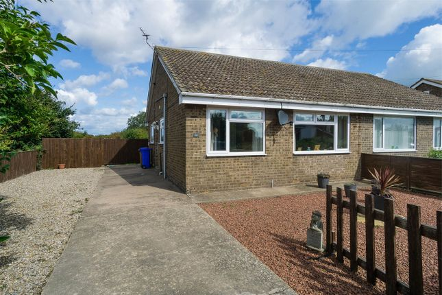 Thumbnail Semi-detached bungalow for sale in Norman Avenue, Withernsea, East Riding Of Yorkshire
