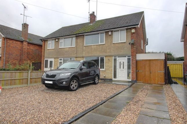 3 bed semi-detached house for sale in Laurel Road, Blaby, Leicester LE8