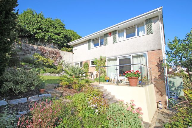 Thumbnail Detached House For Sale In Wellsbourne Park Mannamead Plymouth