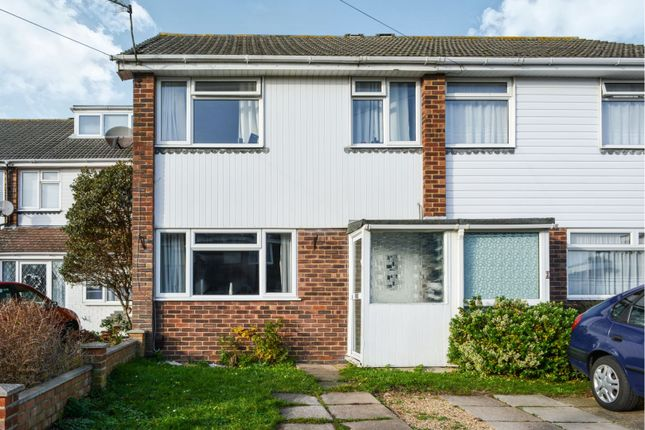 Thumbnail Terraced house for sale in Mortimer Close, Netley Abbey, Southampton