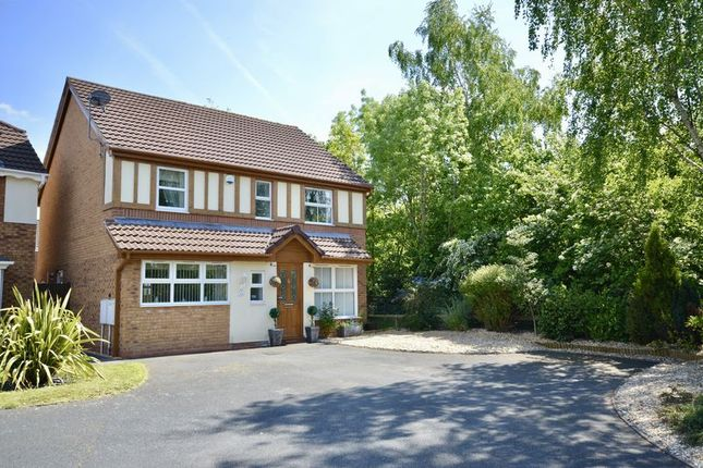 Thumbnail Detached house for sale in Longthorpe Drive, Leegomery, Telford, Shropshire.