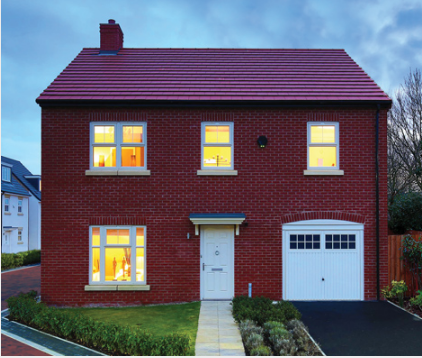Thumbnail Detached house for sale in The Stockholm, Resevoir Road, Burton Upon Trent, Staffordshire
