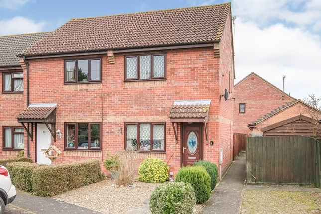 2 bed end terrace house for sale in St. Benedicts Road, Brandon IP27