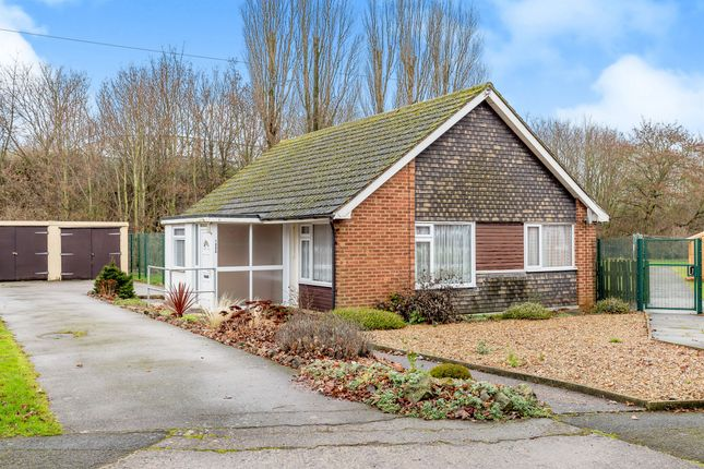 Thumbnail Detached bungalow for sale in Rockingham Road, Lloyds, Corby
