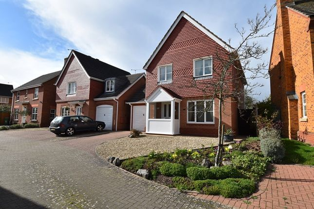 Thumbnail Detached house for sale in Nightingale Close, Droitwich