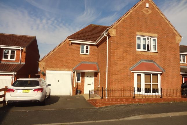 Thumbnail Detached house for sale in Peel Drive, Wilnecote, Tamworth