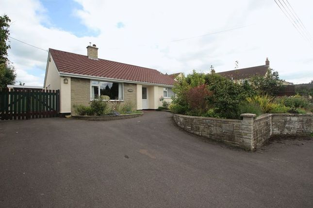 Thumbnail Detached bungalow for sale in Meareway, Meare, Glastonbury