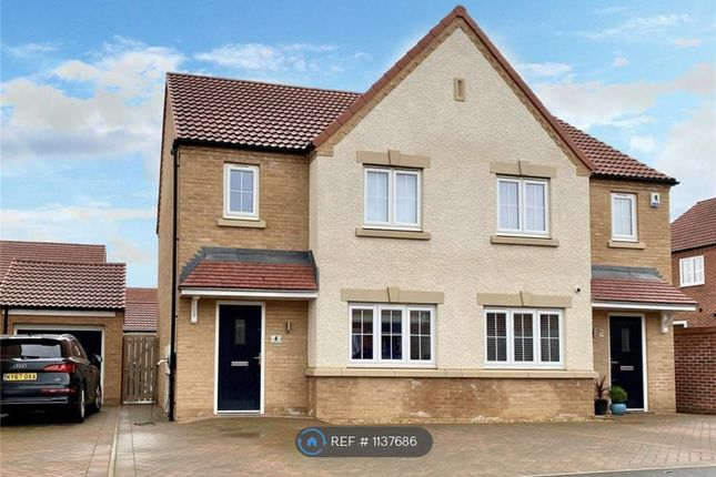 3 bed semi-detached house to rent in Tangmere Road, Yarm TS15