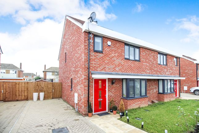Thumbnail Semi-detached house for sale in Sandpiper Close, East Tilbury, Tilbury