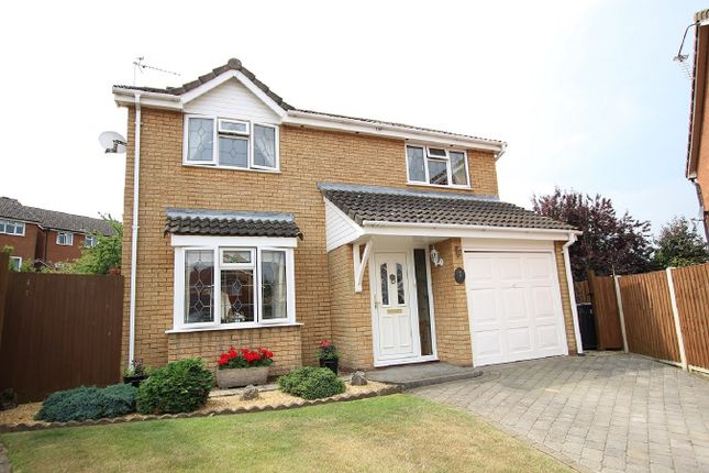 Thumbnail Detached house for sale in Rousies Close, Hadleigh, Ipswich, Suffolk