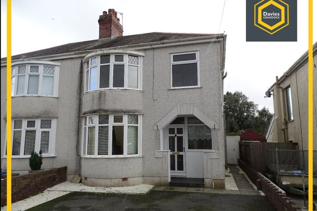 Thumbnail Semi-detached house to rent in 48 Gelli Road, Llanelli