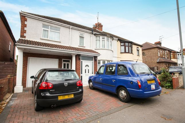 Thumbnail Semi-detached house for sale in Woodland Avenue, Luton