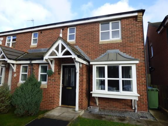 Thumbnail Semi-detached house for sale in Cottingham Grove, Thornley, Durham
