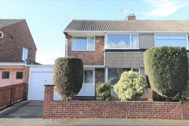 Thumbnail Semi-detached house for sale in Barras Avenue West, Blyth