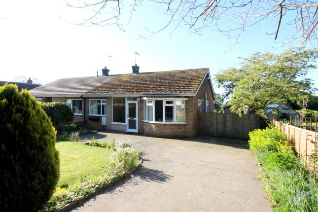 2 bed semi-detached bungalow for sale in Main Street, Brandesburton, Driffield