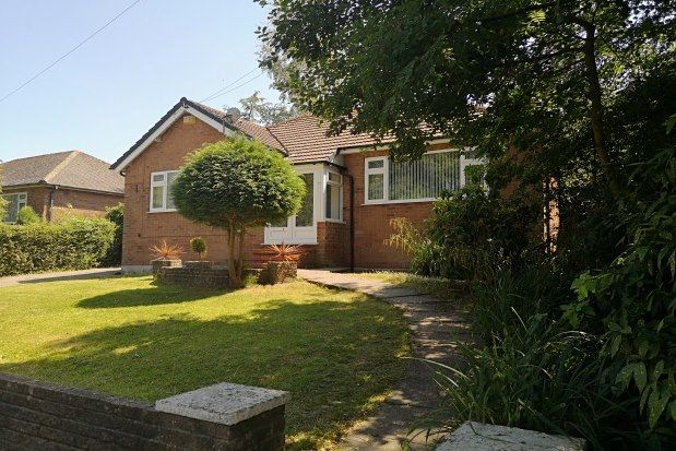 Thumbnail Detached bungalow to rent in Fir Road, Stockport